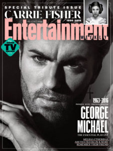 George Michael on Entertainment Weekly Cover