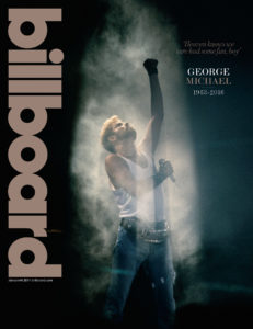 George Michael on Billboard Magazine Cover