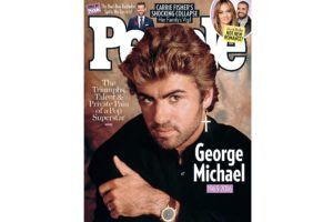 George Michael on People Magazine cover